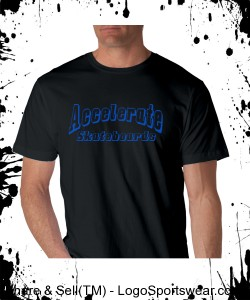 "Accelerate ""simple T"" Black Design Zoom"
