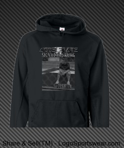 Accelerate pro Dave Smith hoodie Design Zoom