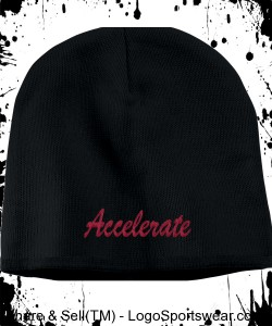 Accelerate beanie Design Zoom